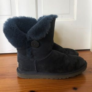 Blue Bailey Button Uggs